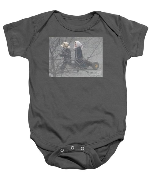 Just Like Mom And Dad Baby Onesie