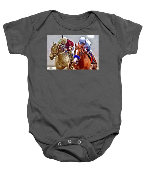 Justify In The Lead Baby Onesie