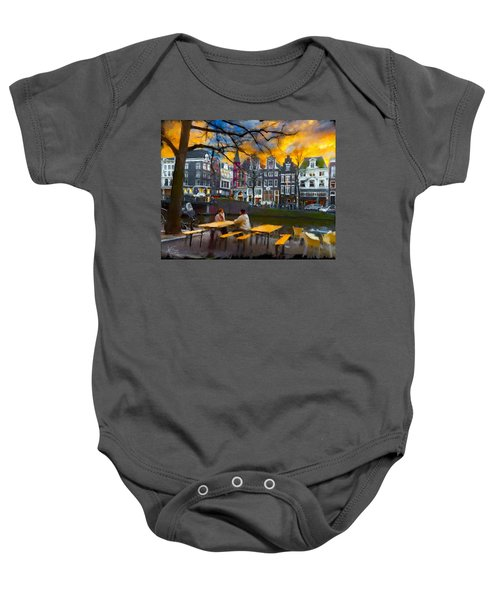 Kaizersgracht 451. Amsterdam Baby Onesie