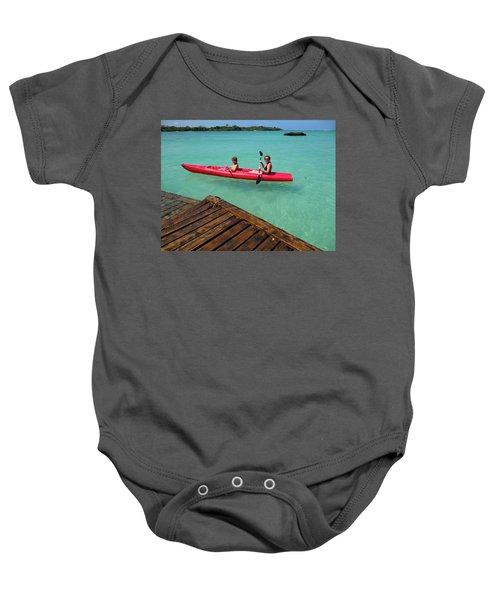 Kayaking Perfection 1 Baby Onesie