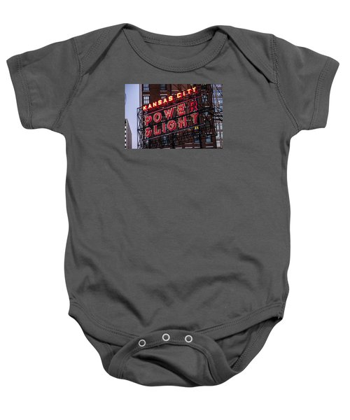 Kc Power And Light Baby Onesie