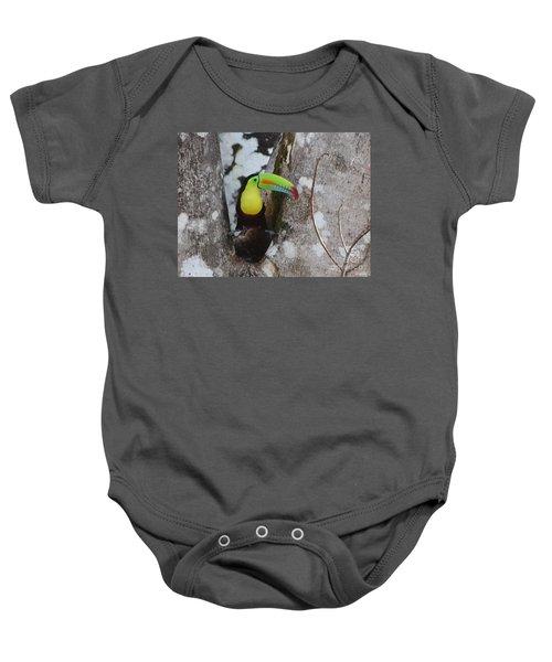 Keel-billed Toucan #2 Baby Onesie