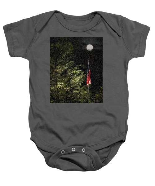 Keeping America  Illuminated.  Baby Onesie