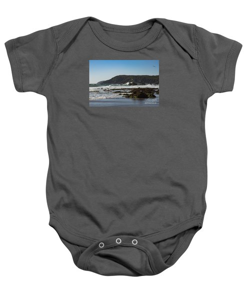 Kennack Sands Baby Onesie