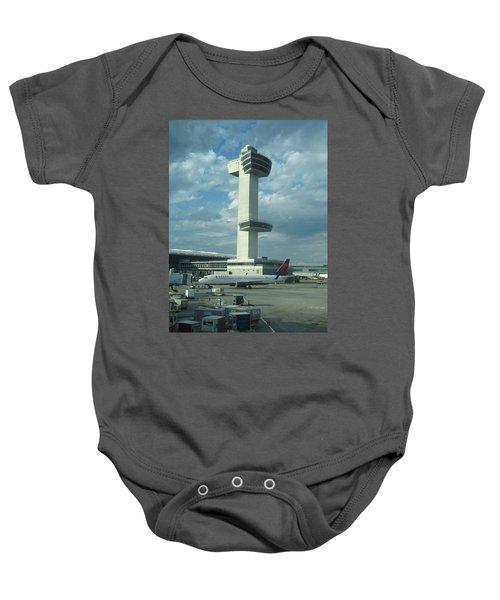 Kennedy Airport Control Tower Baby Onesie