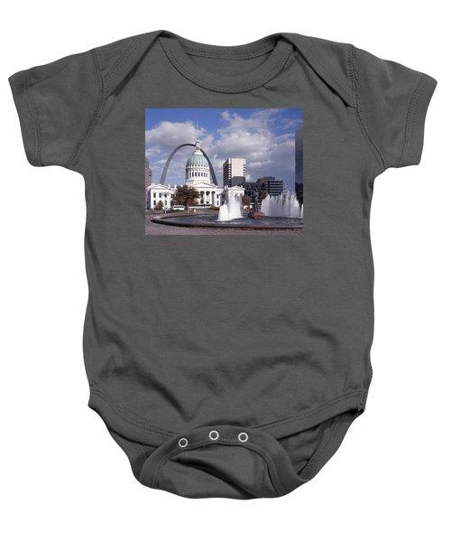 Kiener Plaza - St Louis Baby Onesie