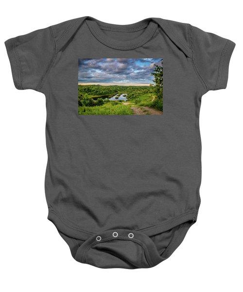 Kentucky Hills And Lake Baby Onesie