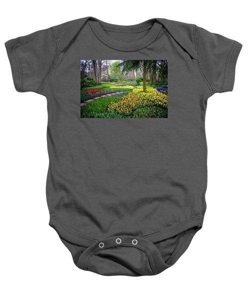 Keukehof Botanic Garden 2015 Baby Onesie