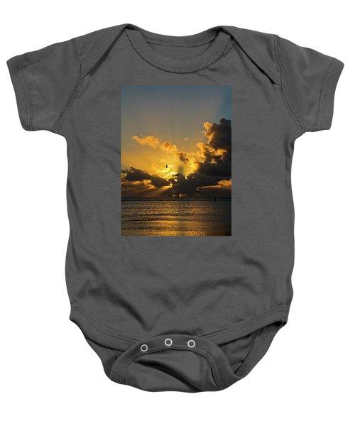 Key West Sunrise 39 Baby Onesie