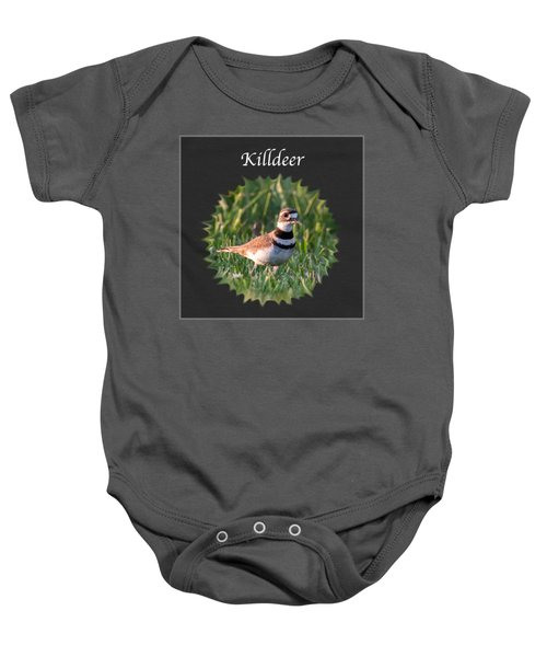 Killdeer Baby Onesie by Jan M Holden