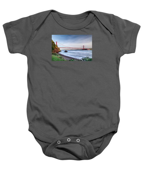 Kirby Cove Beach Baby Onesie