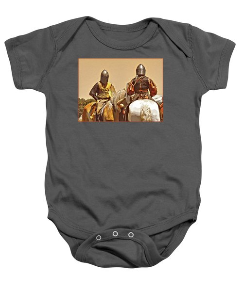 Knight's Conference Baby Onesie