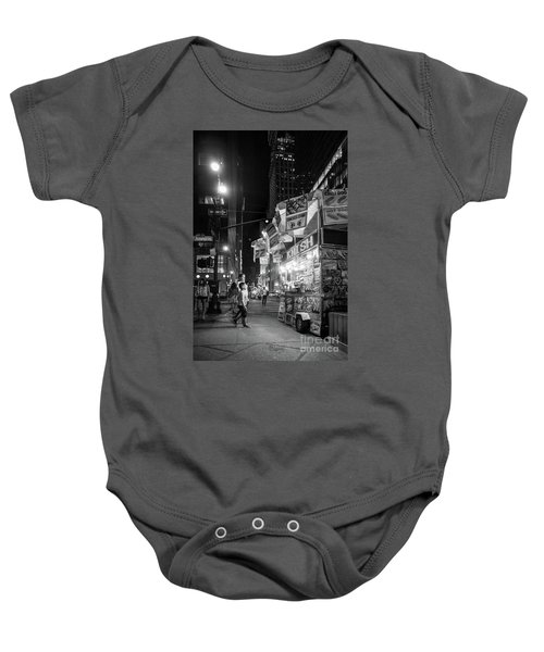 Knish, New York City  -17831-17832-bw Baby Onesie