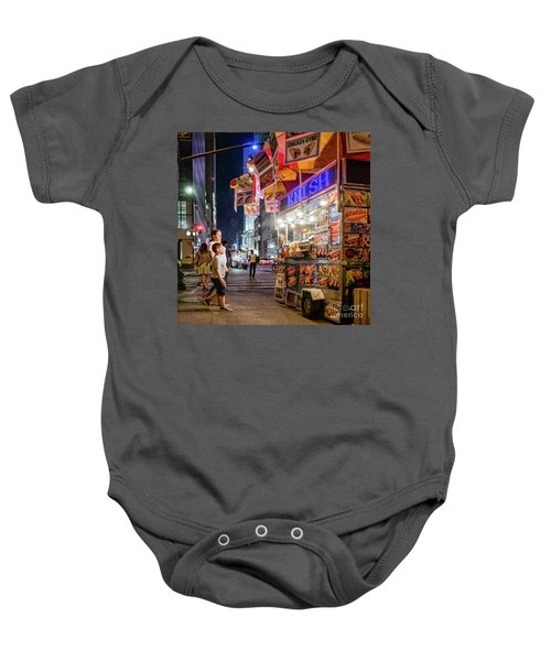 Knish, New York City  -17831-17832-sq Baby Onesie