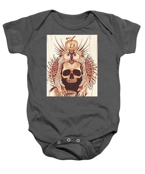 Knowledge Baby Onesie by Deadcharming Art