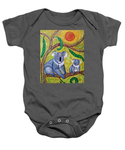 Koala Sunrise Baby Onesie by Sarah Loft