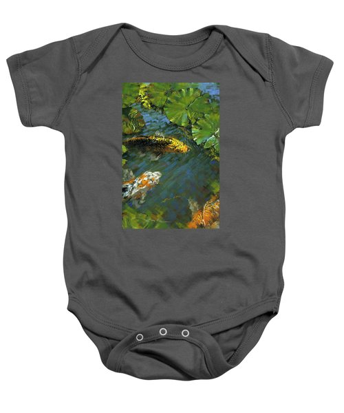 Koi Pond Baby Onesie