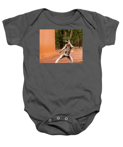 Kung Fu Mom Baby Onesie by Alex Lapidus