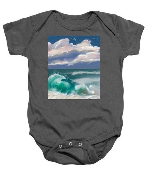 Kure Beach Baby Onesie