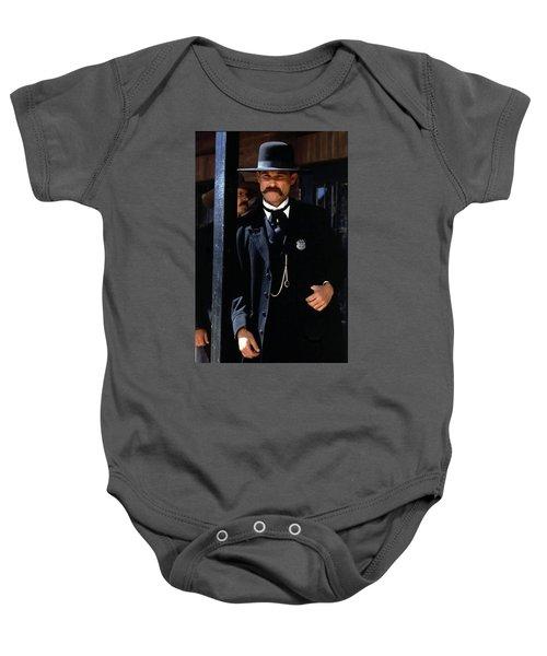Kurt Russell As Wyatt Earp Tombstone Arizona 1993-2015 Baby Onesie
