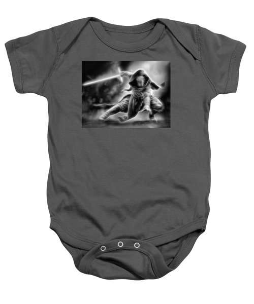 Kylo Ren Nothing Will Stand In Our Way Baby Onesie
