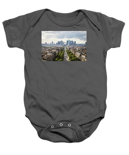 La Defense Paris Baby Onesie