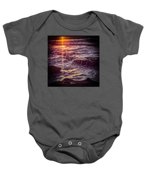 La Jolla Sunset Baby Onesie
