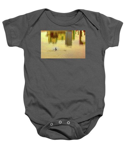 Labyrinthine #d7 Baby Onesie