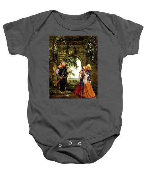 Lady At The Gate Baby Onesie
