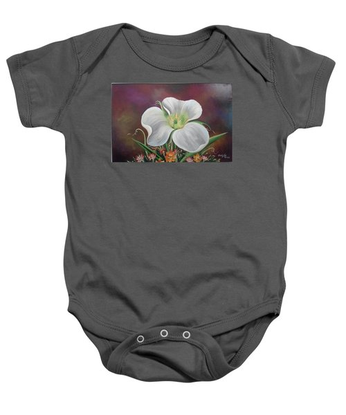 Lady Moon Baby Onesie