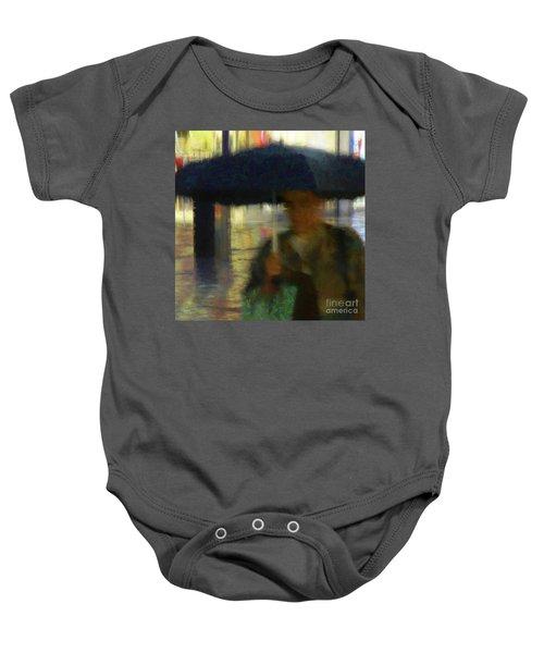 Lady With Umbrella Baby Onesie