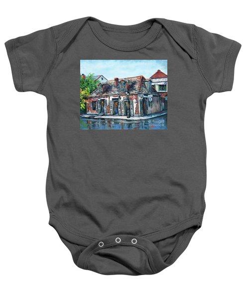 Lafitte's Blacksmith Shop Baby Onesie