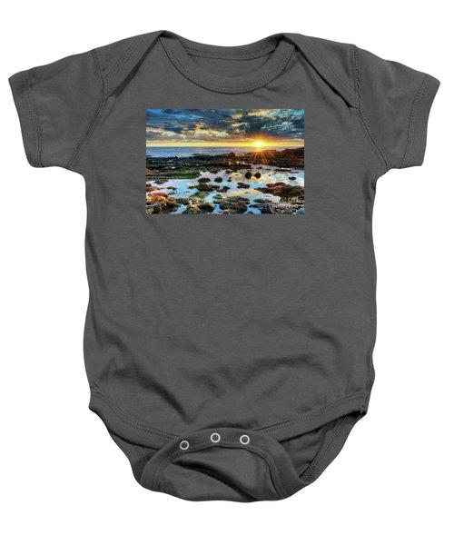 Laguna Beach Tidepools Baby Onesie