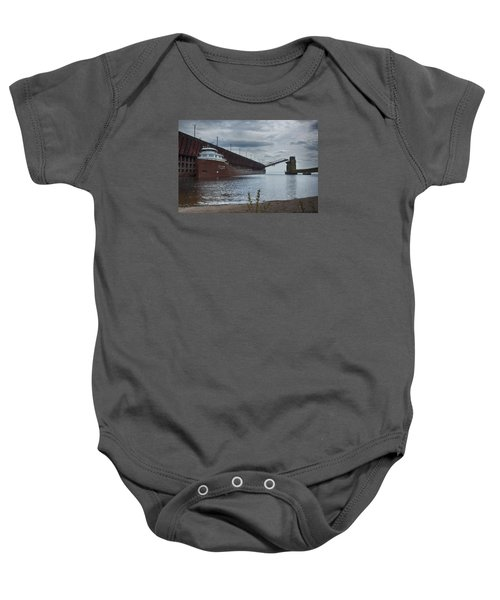 Lake Freighter Baby Onesie