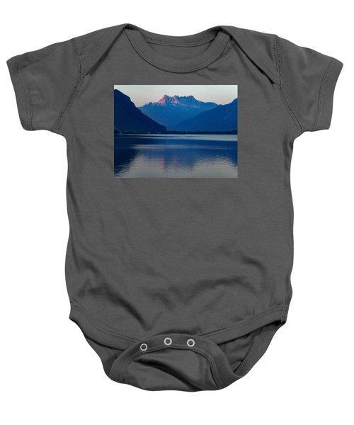 Lake Geneva, Switzerland Baby Onesie