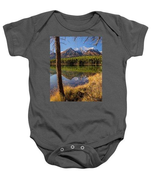 Lake Herbert Reflections Baby Onesie