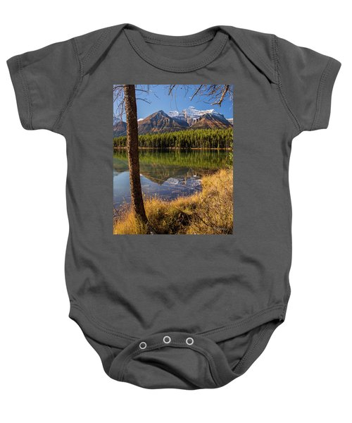 Lake Herbert Reflections Baby Onesie
