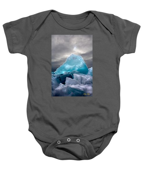 Lake Ice Berg Baby Onesie