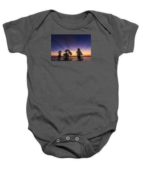 Lake Istokpoga Sunrise Baby Onesie