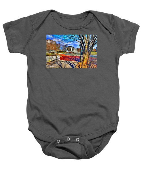 Lake Kittamaqundi Walkway Baby Onesie