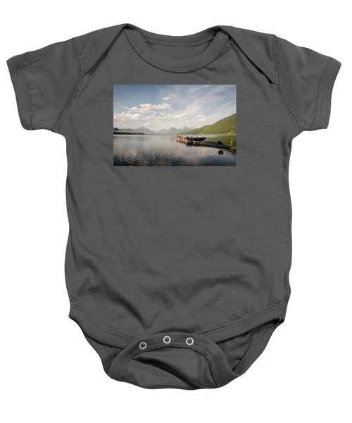 Lake Mcdonald Baby Onesie