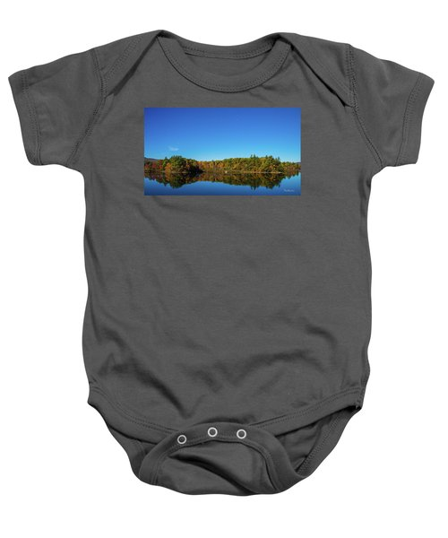Lake Reflections Baby Onesie