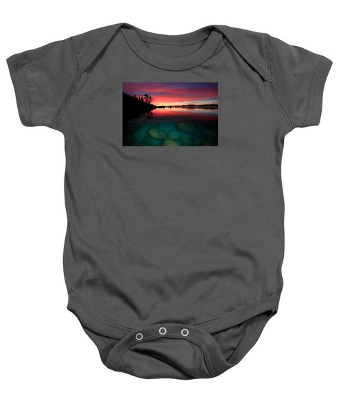 Lake Tahoe Jewels Baby Onesie