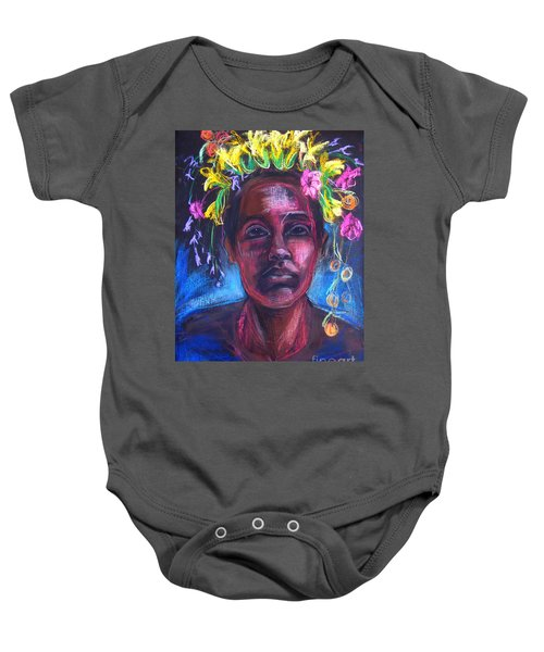 Land Of Plenty Baby Onesie