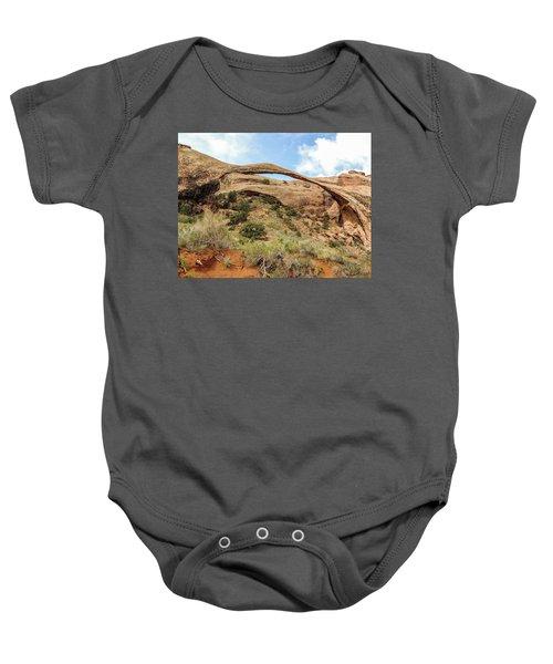 Landscape Arch Baby Onesie