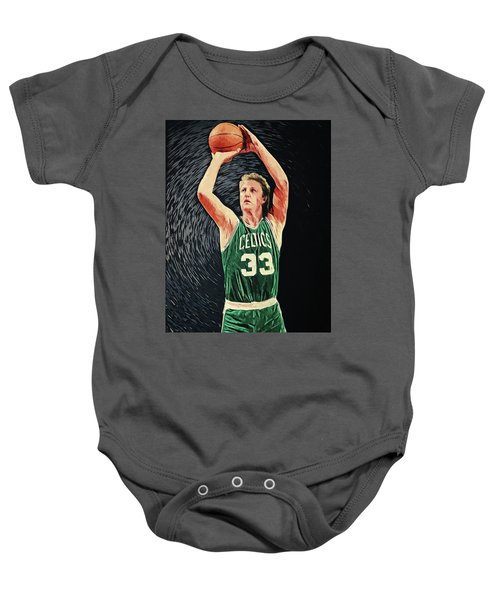 Larry Bird Baby Onesie