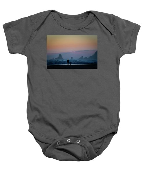 Last Colors Baby Onesie