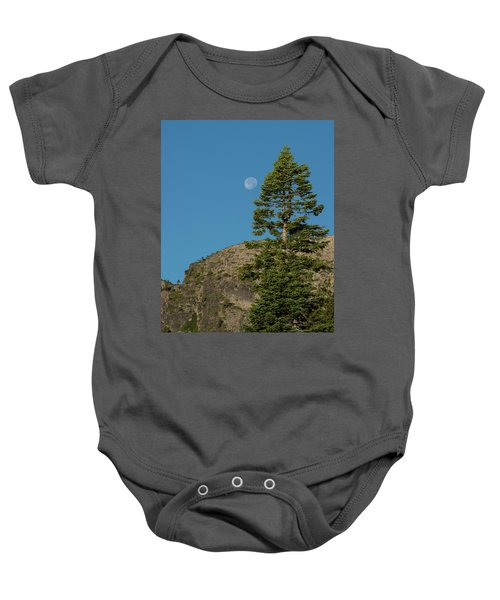 Last Moments Of A Full Moon Baby Onesie