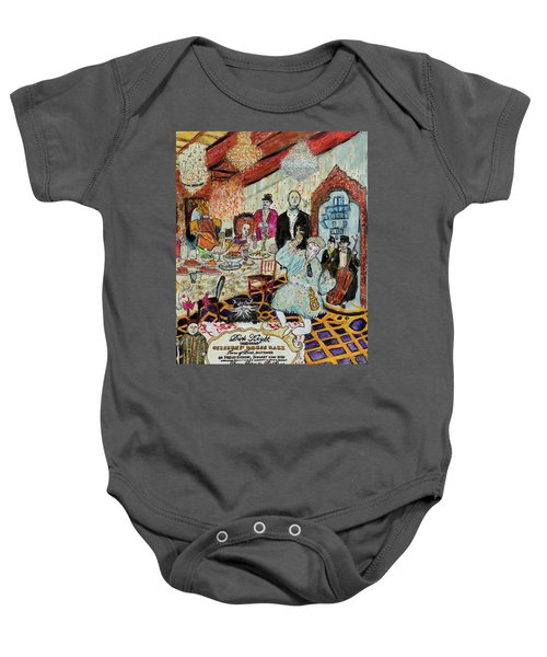 Last Supper, Dark Knight Baby Onesie by Lindsay Strubbe