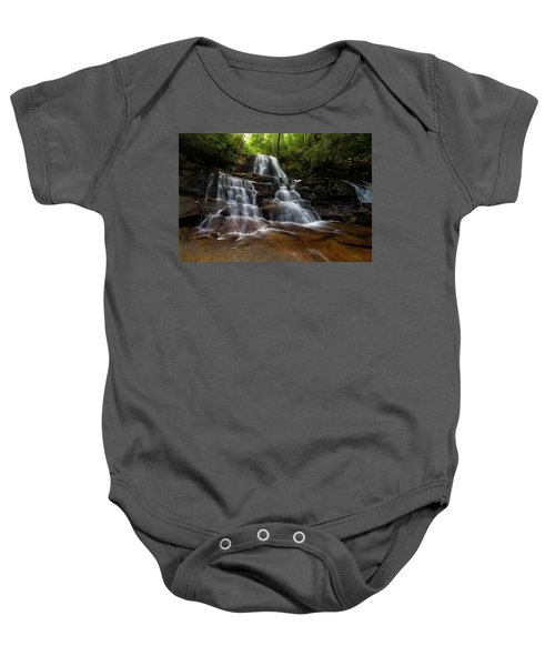 Laurel Falls Great Smoky Mountains Tennessee Baby Onesie